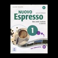 Nuovo EspressoItalian Edition Libro Studente A1+DVD