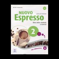 Nuovo EspressoItalian Edition Libro Studente A2+DVD