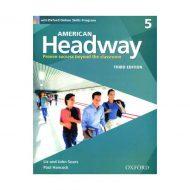 American Headway 3rd 5 SB+WB+DVD