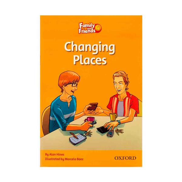 Family and Friends 4 Readers Changing Places