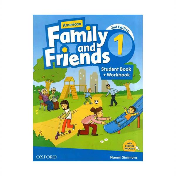 American Family and Friends 2nd 1 In One Volume CD+DVD