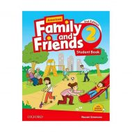 American Family and Friends 2nd 2 SB+WB+DVD