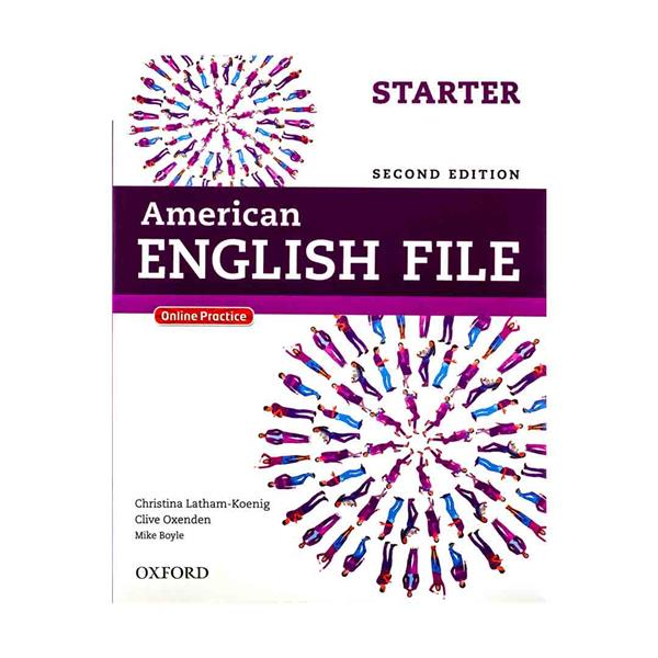 American English File 2nd Starter SB+WB+2CD+DVD