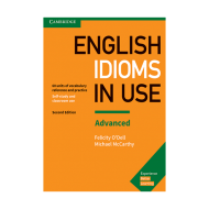 Idioms In Use English 2nd Advanced
