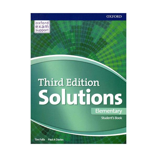 Solutions 3rd Elementary SB+WB+DVD