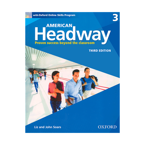 American Headway 3rd 3 SB+WB+CD